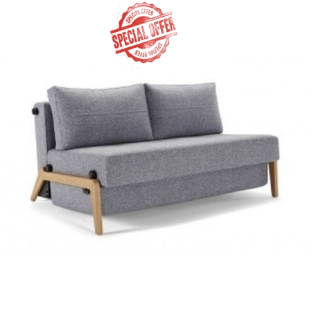 Cubed 140 Wood Double Sofa Bed