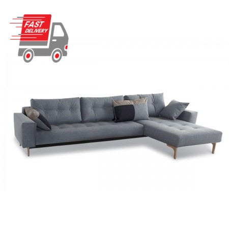 Idun Deluxe Lounger Double Sofa Bed