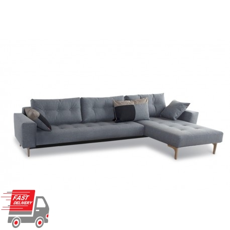 Idun Deluxe Lounger Double Sofa Bed