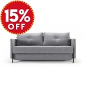 Cubed 140 Double Sofa Bed With Arms