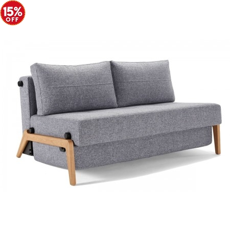 Cubed 160  Wood Queen Sofa Bed