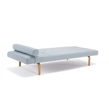 NAPPER SINGLE SOFA BED with dark stiletto legs