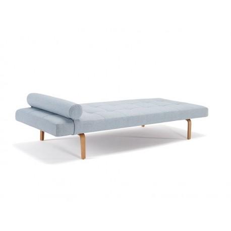 NAPPER SINGLE SOFA BED with dark stiletto legs