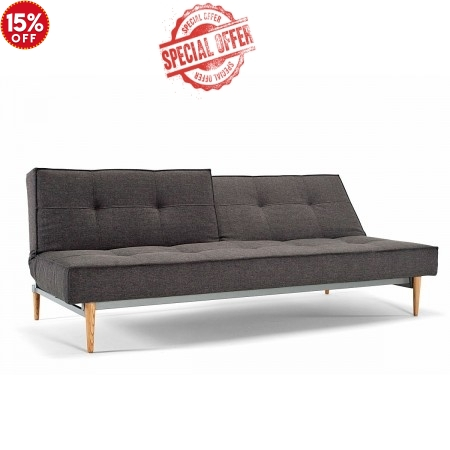 Splitback Wood Sofa Bed