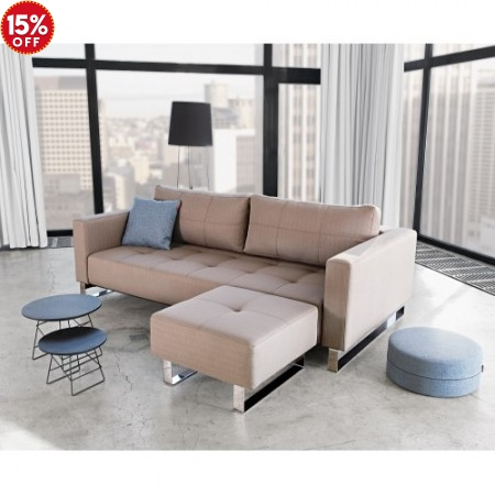 Cassius Excess Lounger Deluxe Queen Sofa Bed