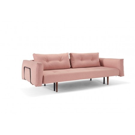 Recast Double Sofa Bed with Metal Arms