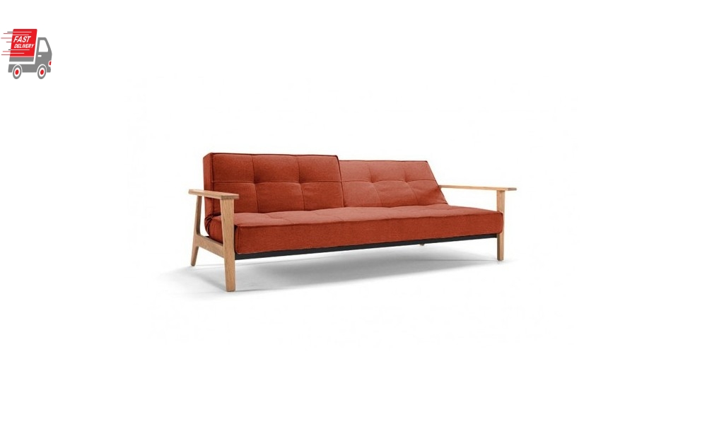 Splitback Frej Sofa Bed With Arms
