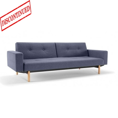 ASMUND SOFA BED WITH ARMS