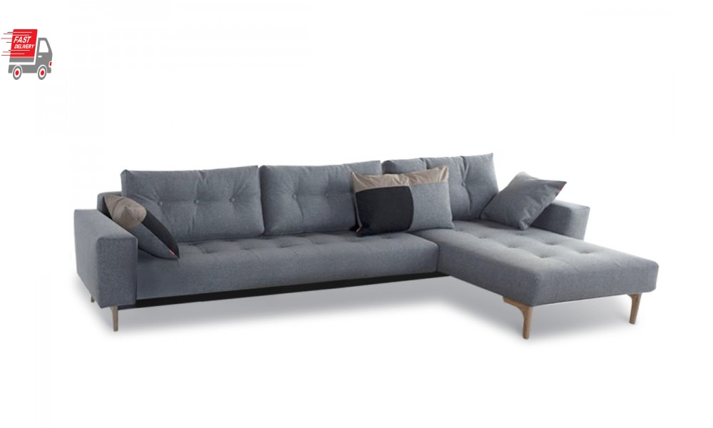 Idun Deluxe Lounger Double Sofa Bed Innovation Living Sydney