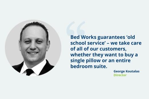 George Koutalas - Bedworks Director